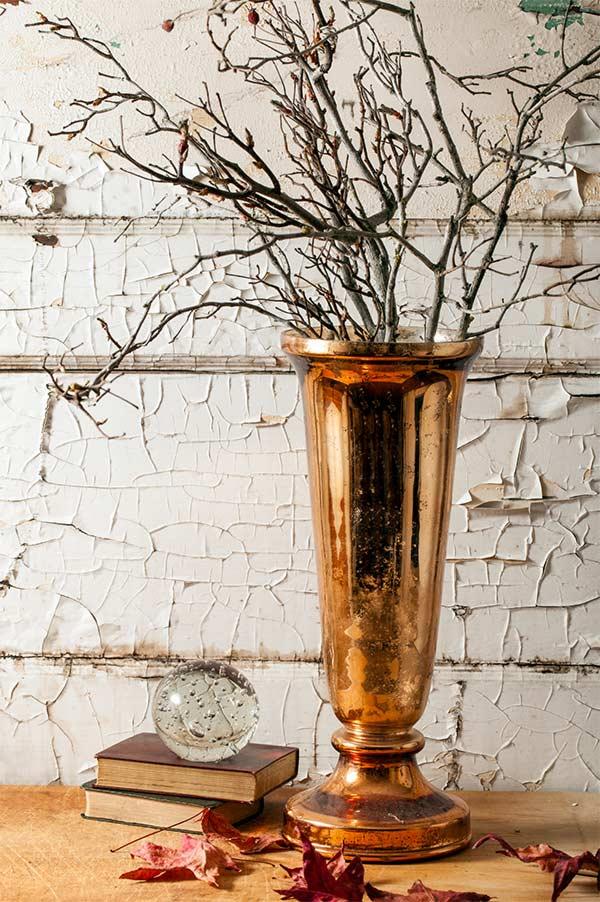 Goldy vase